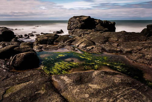 fujixe2 cottagecove portgeorge novascotia canada cans2s 2017 spring provincial park rock water afternoon tide fundy bayoffundy fundyshore longexposure le