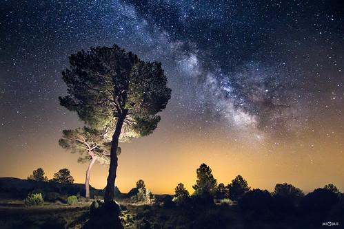 Vía Láctea en la sierra de Gúdar | by PacoQT