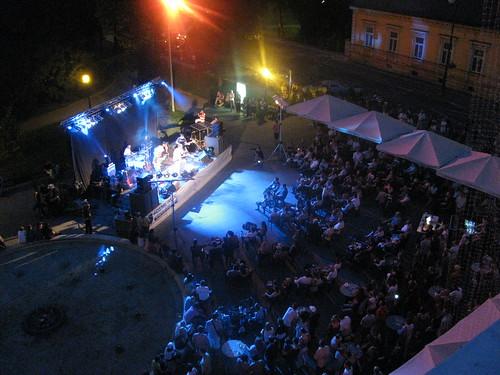 Koncert na Kazališnom trgu u sklopu Ljeta u Varaždinu