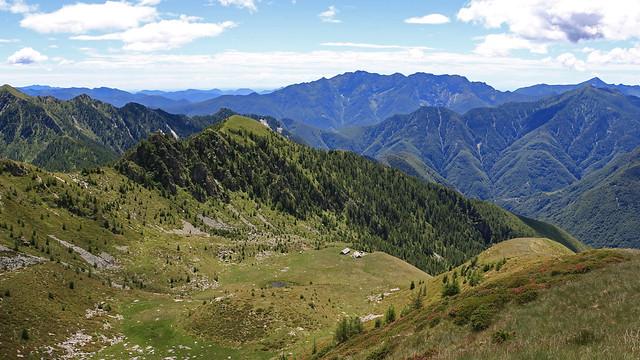 Alpe del Lago, Valle Vergeletto. Canton Ticino, Svizzera