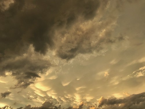 Mammatus Clouds | by Cat Sidh