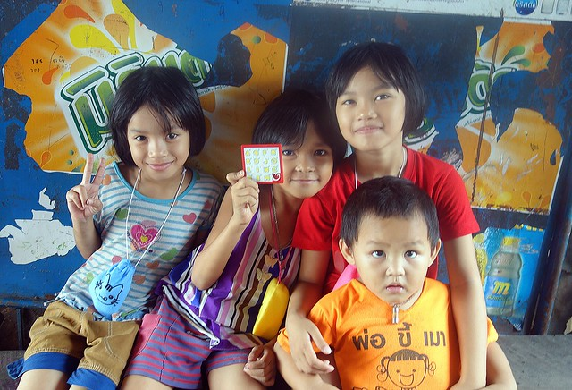 sisters with baby brother