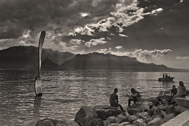 Festival Images Vevey and my flickr's  photostream . 25.09.16, 15:10:47 . No. DSC_4150 B & W.