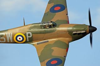 Hawker Hurricane IIa P3717   by MUSTANG_P51