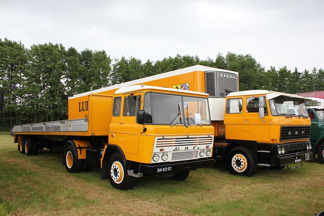 Daf FT 2600 Ft2600dka310 1972 (DA-83-57) & Daf Ft2800 dks 1976 Luinstra (48-68-JB)
