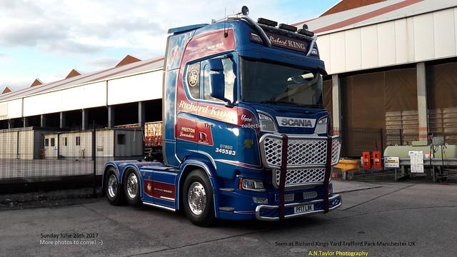 Scania Next Generation  S580 Topline PF17 LBK  ( 0005 RBK ) 2017  Richard King Haulage