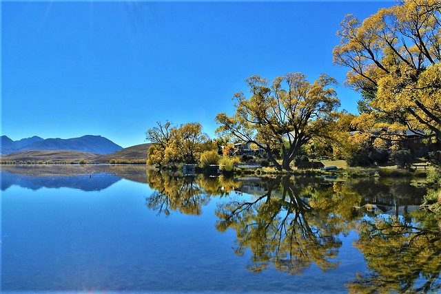 10670409 - Lake Alexandrina.  South Island, NZ