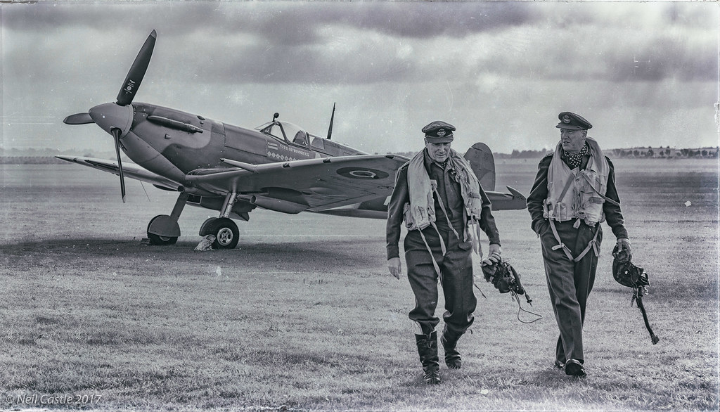 Spitfire and Pilots
