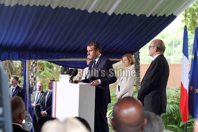 Reception Emmanuel Macron Bamako - 107 sur 144