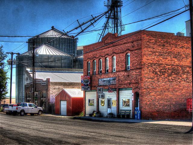 Main Street U.S.A., Hartline, WA