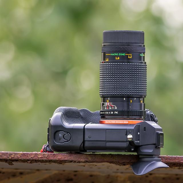 Enna München Ennagon 90mm ƒ/2.8 (E-mount converted) on SONY ⍺7II