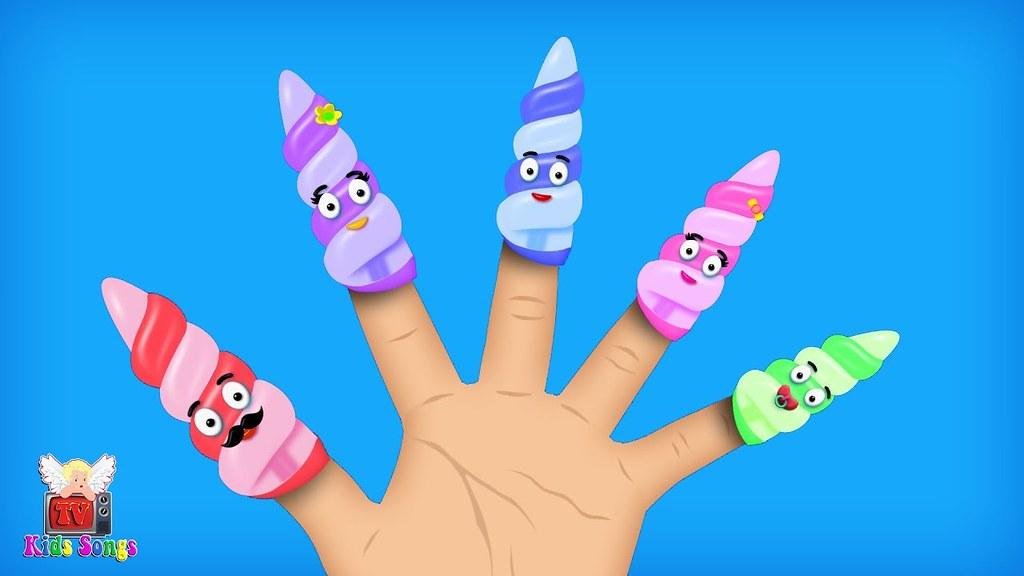 The Finger Family Song | Finger Family | Nursery Rhymes