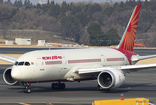 Air India 787-8 VT-ANK