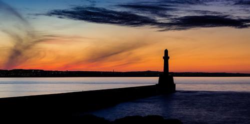 infinity scotland dazza1040 darrenwright aberdeen seascape southbreawater torrybattery pano sunset