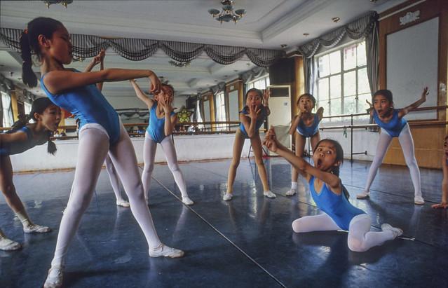 Dance class Shanghai 1999