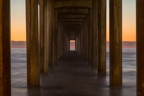 photosbymch landscape seascape sunset ocean pier scrippspier ellenbrowningscrippsmemorialpier scrippsinstitutionofoceanography ucsd sandiego california canon 5dmkiii 2016 pacificocean outdoors