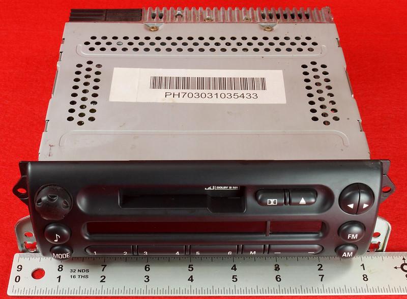 RD16592 Original BMW Business Mini R50 R52 R53 Dolby Kassettenradio Cooper One Autoradio 6512 6923503-01 DSC00746