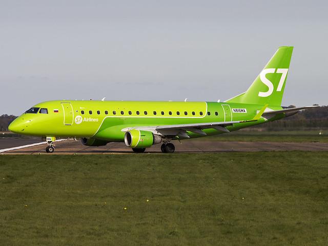 S7 Siberia Airlines   Embraer ERJ-170SU   N816MA