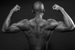 Fitness Photography - Male Black Fitness Model Strength | by vanitystudiosphotography