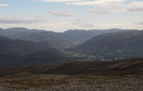 Braemar and Glen Clunie from Carn Liath   by malky_c