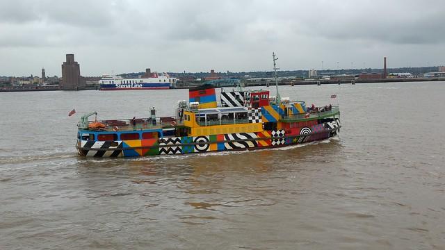 Dazzle Ferry