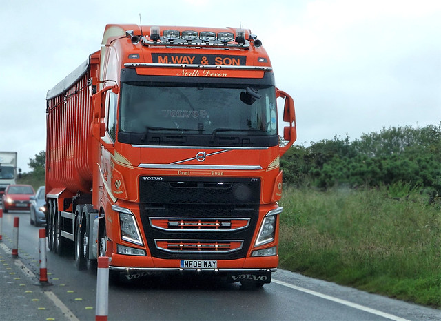 M Way & Son Volvo FH MF09 WAY