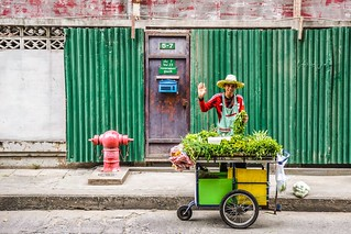 Happy Herb Salesman | by Axel von Wuthenau