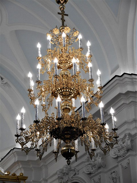 Chandelier - Saint Andrew Russian orthodox church in Naples