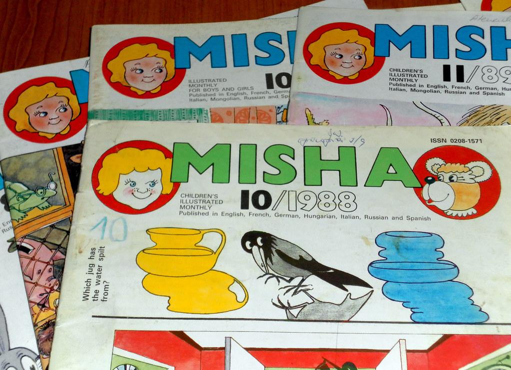 3 Articole din reviste pentru copii