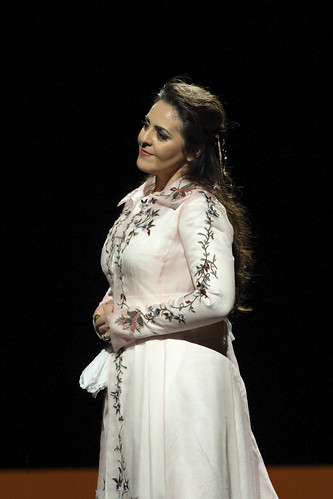 Maria Agresta in action.