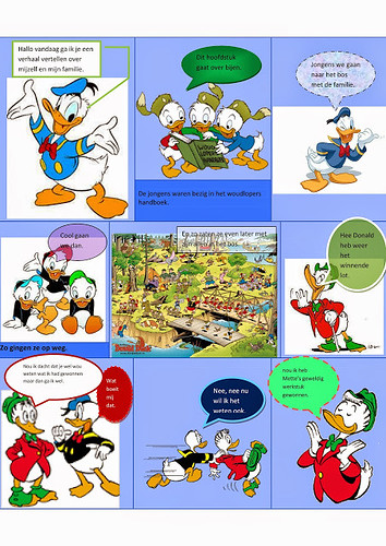 Mette, stripverhaal Donald Duck