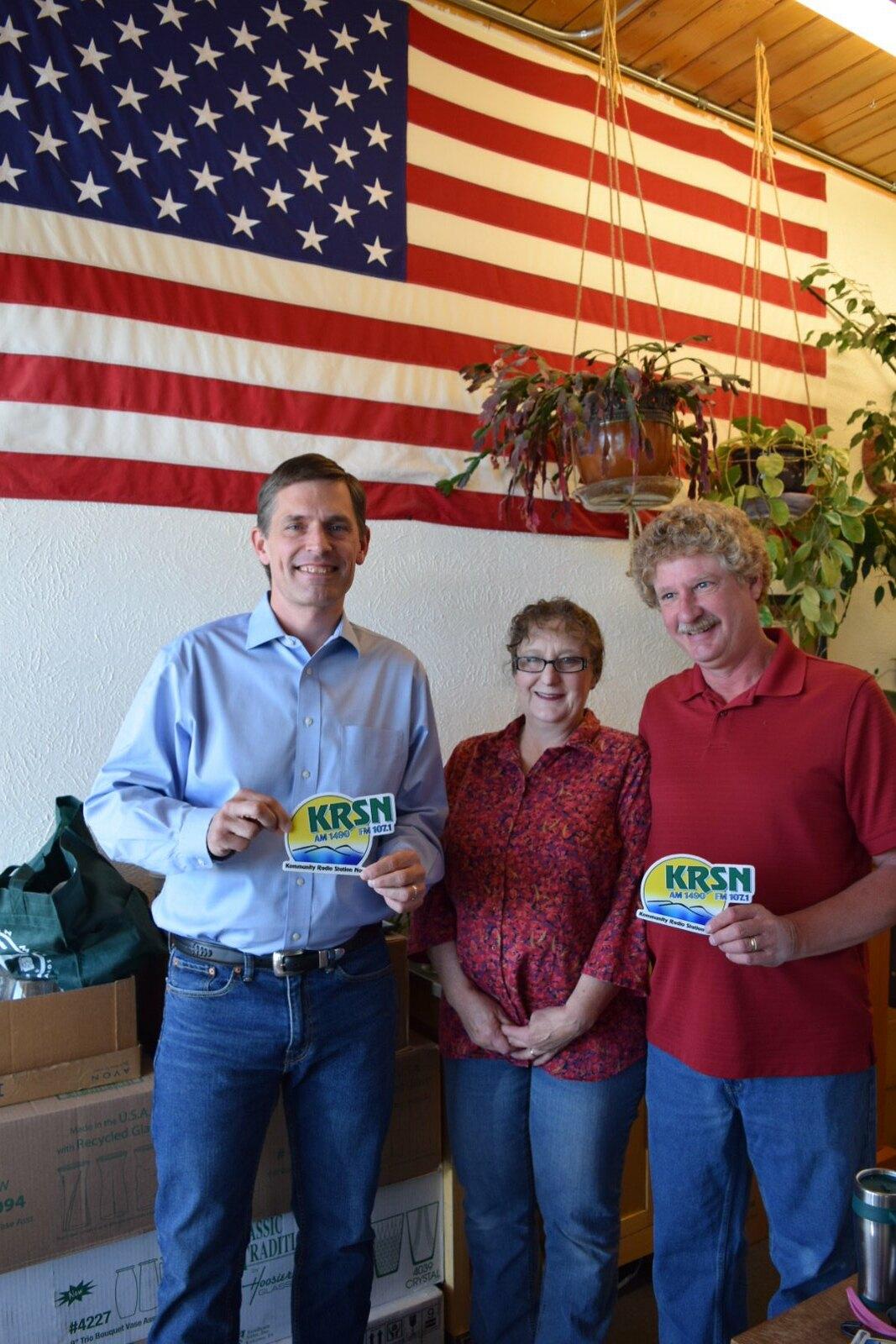 KRSN 1490 AM/107 1 FM Los Alamos, May 27, 2017