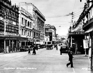 "19 February 1943 - ""MURRAY STREET, PERTH. No.5"", Western Australia"