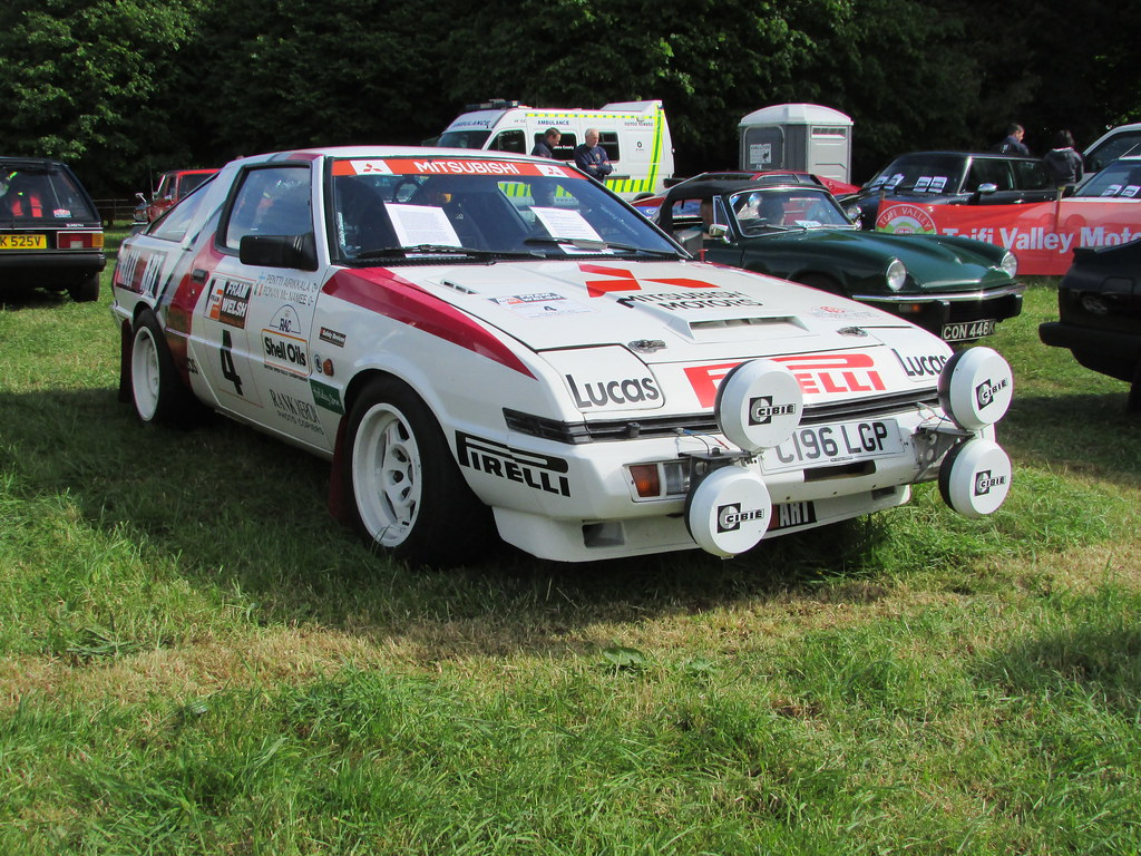 Image result for Mitsubishi starion rally