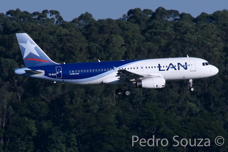 CC-BAE Airbus A320-232 LATAM Chile - cn 4509