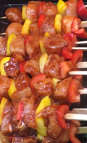 BBQ Chicken Kebabs | by Vicars Game Ltd