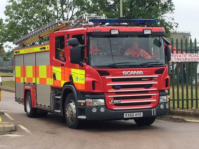 Cambridgeshire Fire & Rescue Papworth Pump