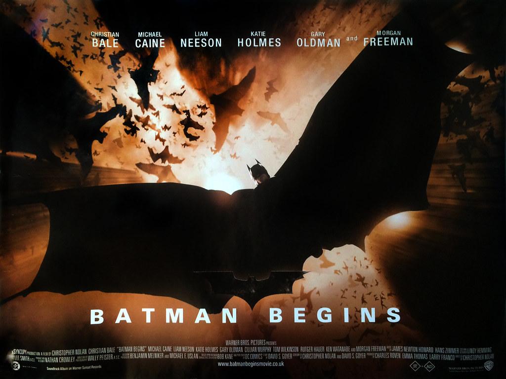 batman-begins-b-quad-poster | Checkout more amazing original… | Flickr