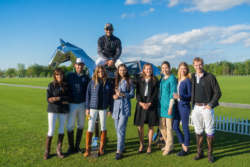 Moscow Polo Club, Polo Club de Veytay and Travel Adventure team