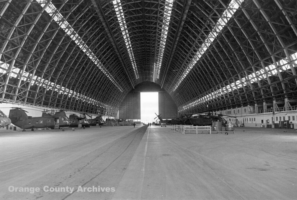 Lta Hangar At Marine Corps Air Station Tustin 1983 Flickr