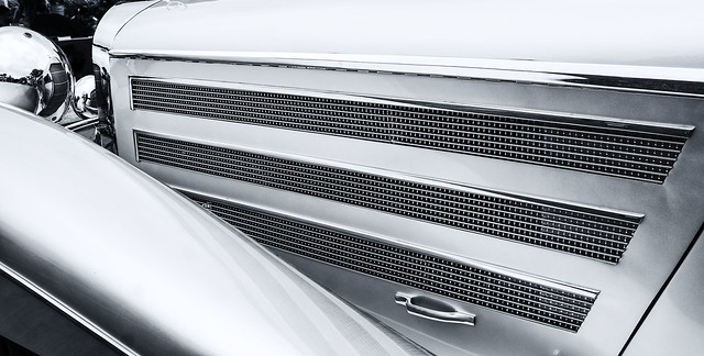 Bonnet and Fender--Replica Mercedes Cabriolet