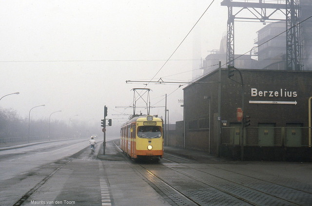 Industrie in de mist