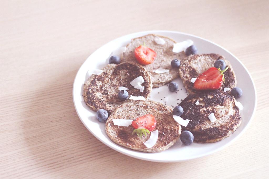 Pancakes - Graines de chia