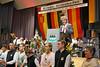 Ansprache des Karlsruher Oberbürgermeisters Frank Mentrup der bisher 2 mal Billed besucht hatte