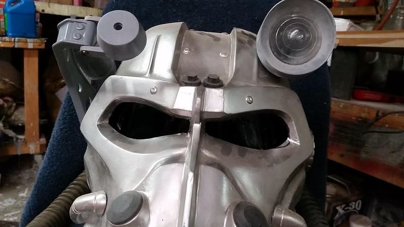 T-60 Helmet Lenses in Place