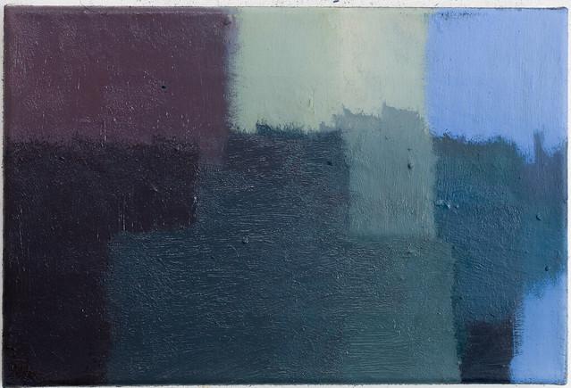 Corresponding D148 24 x 36 cm, Öl,Eitempera/Pigmente 2017