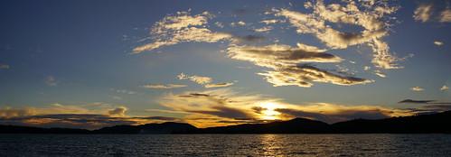 sunset sunsetbeach inletnewyork inletny sky clouds adirondacks hamiltoncounty tamron16300mm