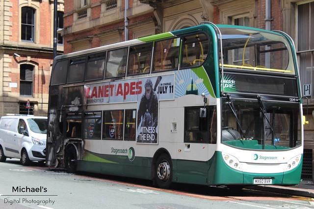Stagecoach Manchester MX60BVR 12049