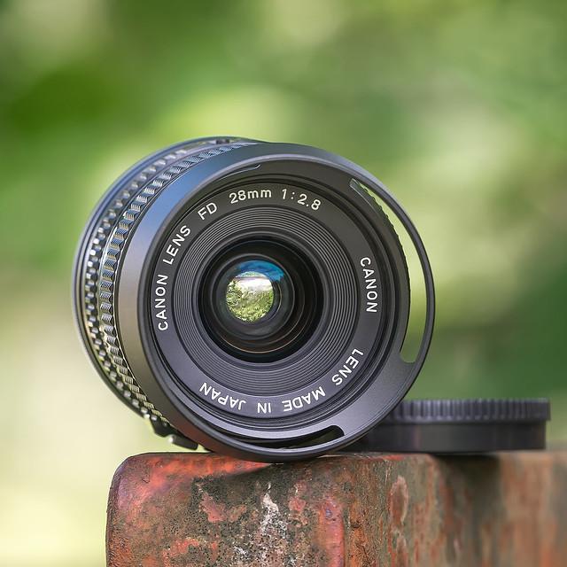 CANON nFD 28mm ƒ/2.8