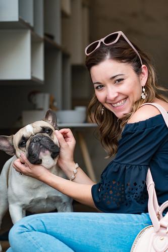 French Bulldog - Stitch the Frenchie   by nan palmero